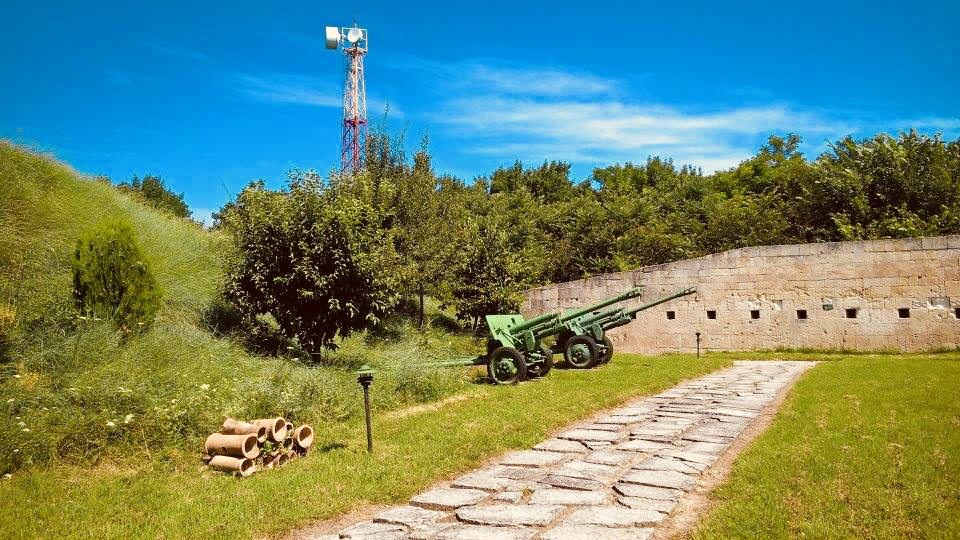 Things to do and discover Silistra - the apricot paradise of Bulgaria - Medjidi Tabia Fort