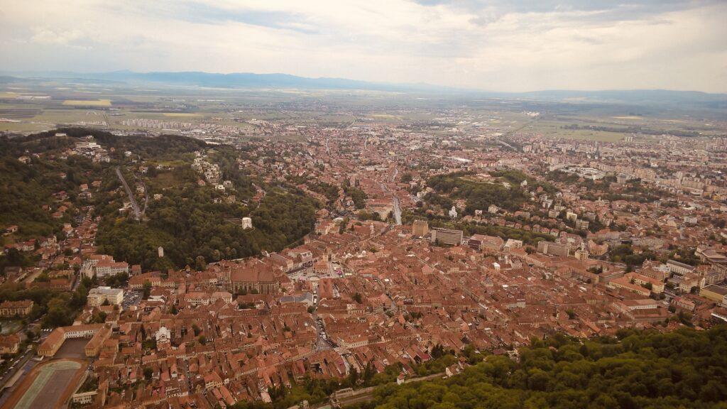 Brasov panoramic view