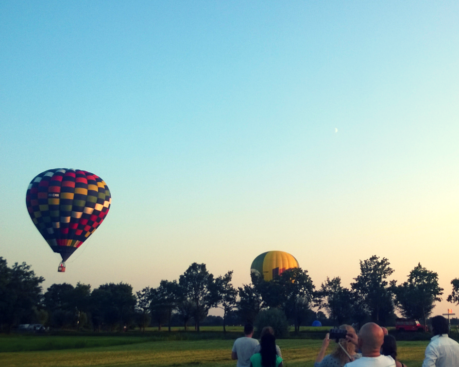 Participate in a Balloon fest in Barneveld, the Netherlands