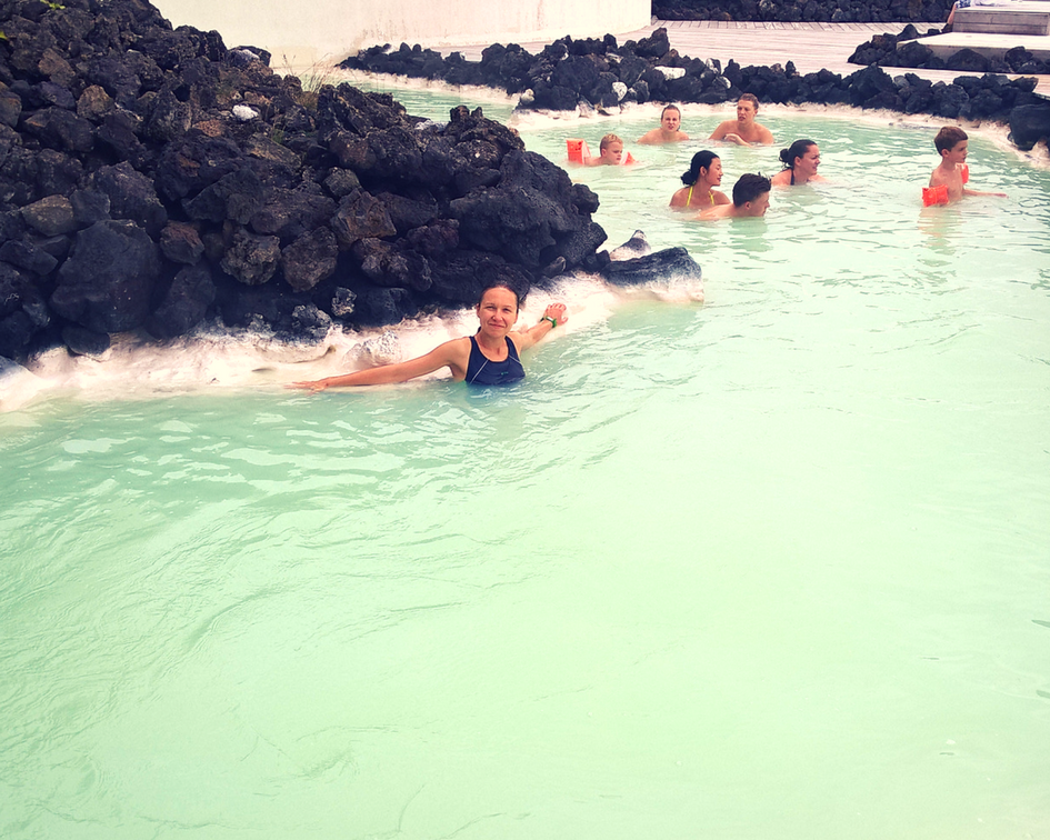 Travel Challenge:  Soak in Blue Lagoon in Iceland