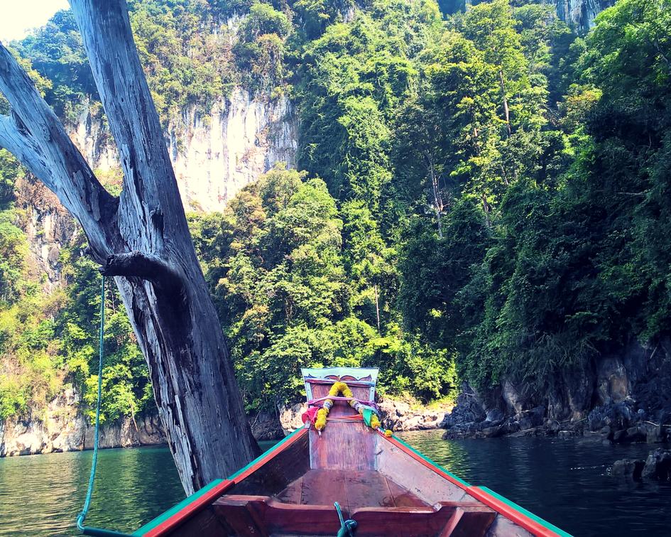 Boat trip in Khao Sok National Park
