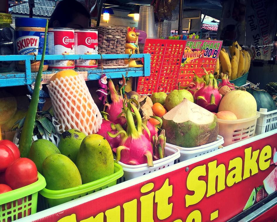 Thong Sala or food market discovery in Ko Phangan