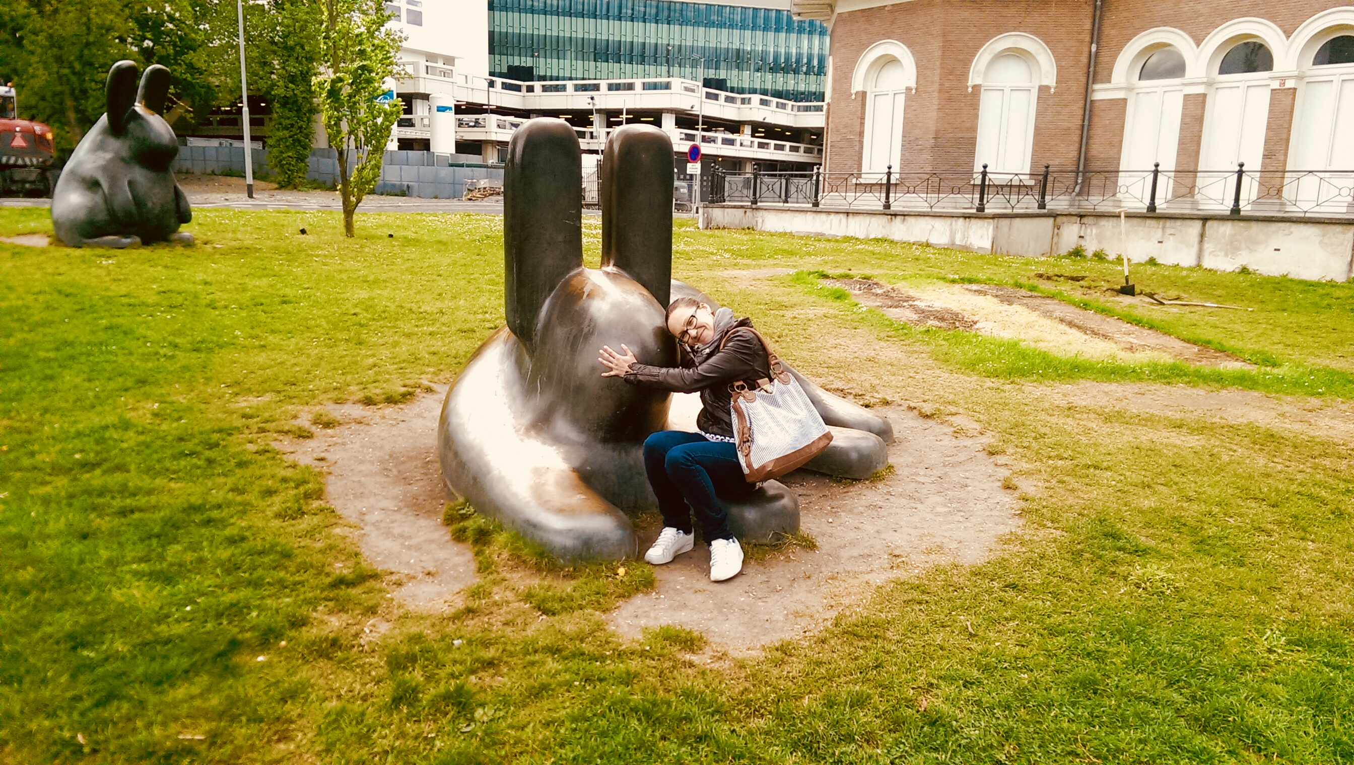 Kunsthal park in Rotterdam