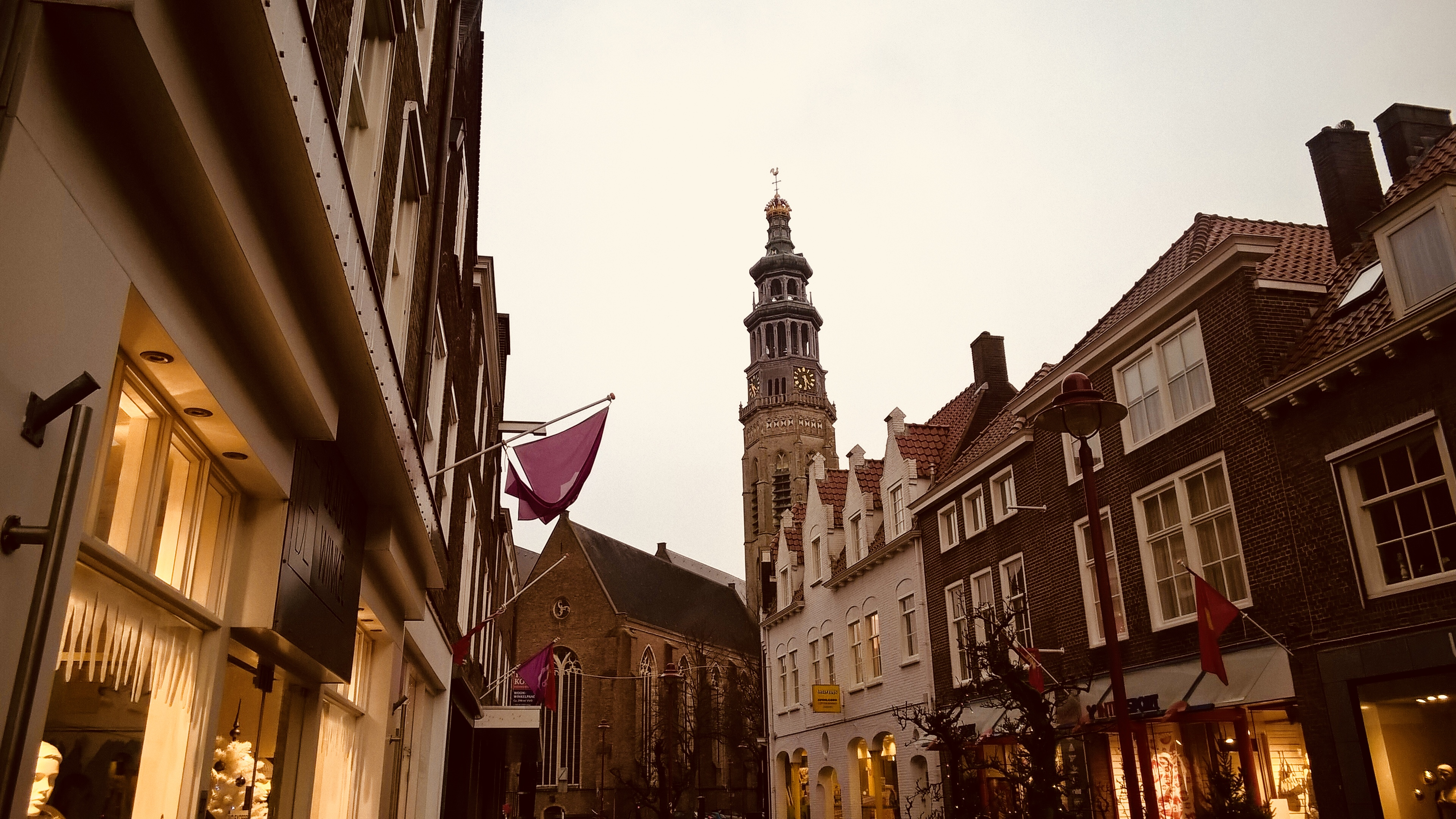 5 things to do in Zeeland, the Netherlands out of the season - Middleburg city centre