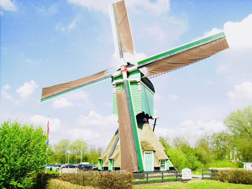 Unesco World Heritage Windmills reserve - Kinderdijk