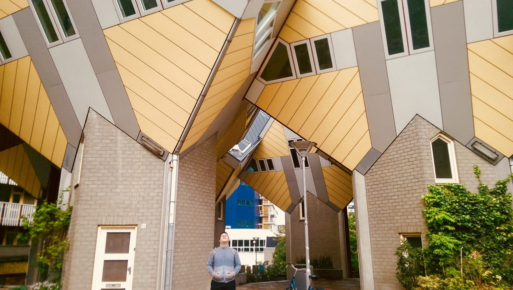 The cube houses (Kijk Cubus) in Rotterdam