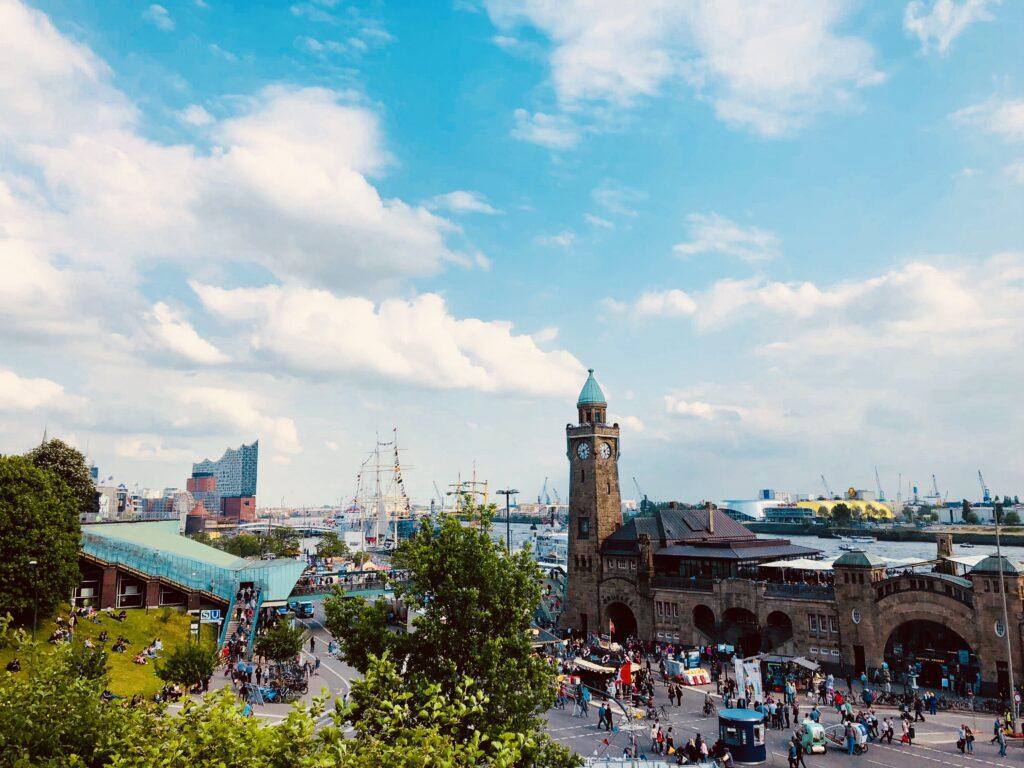 Hamburg port festivities