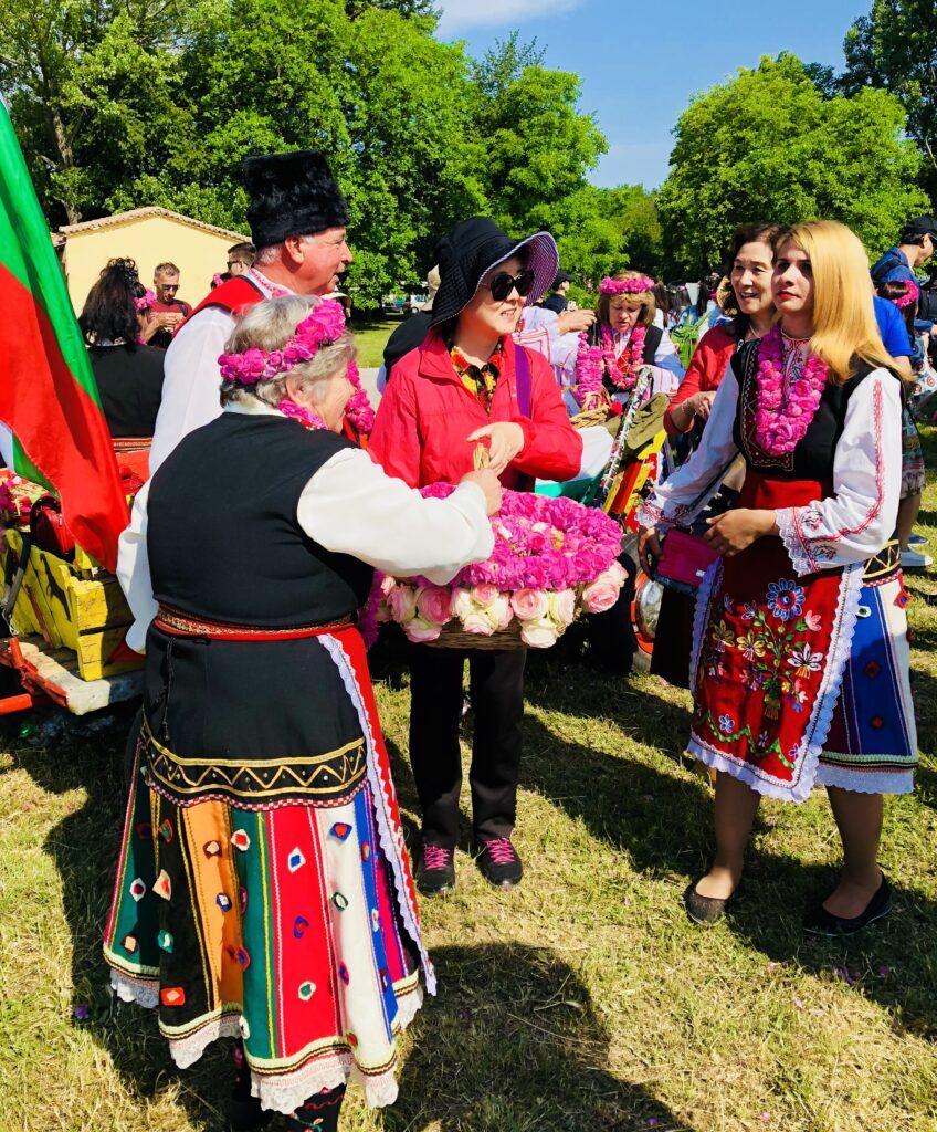 Festival of Roses in Kazanlak