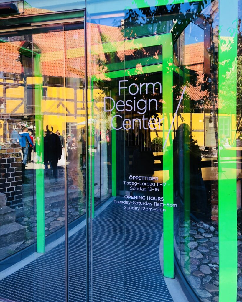 Form Design Center in Malmo, Sweden