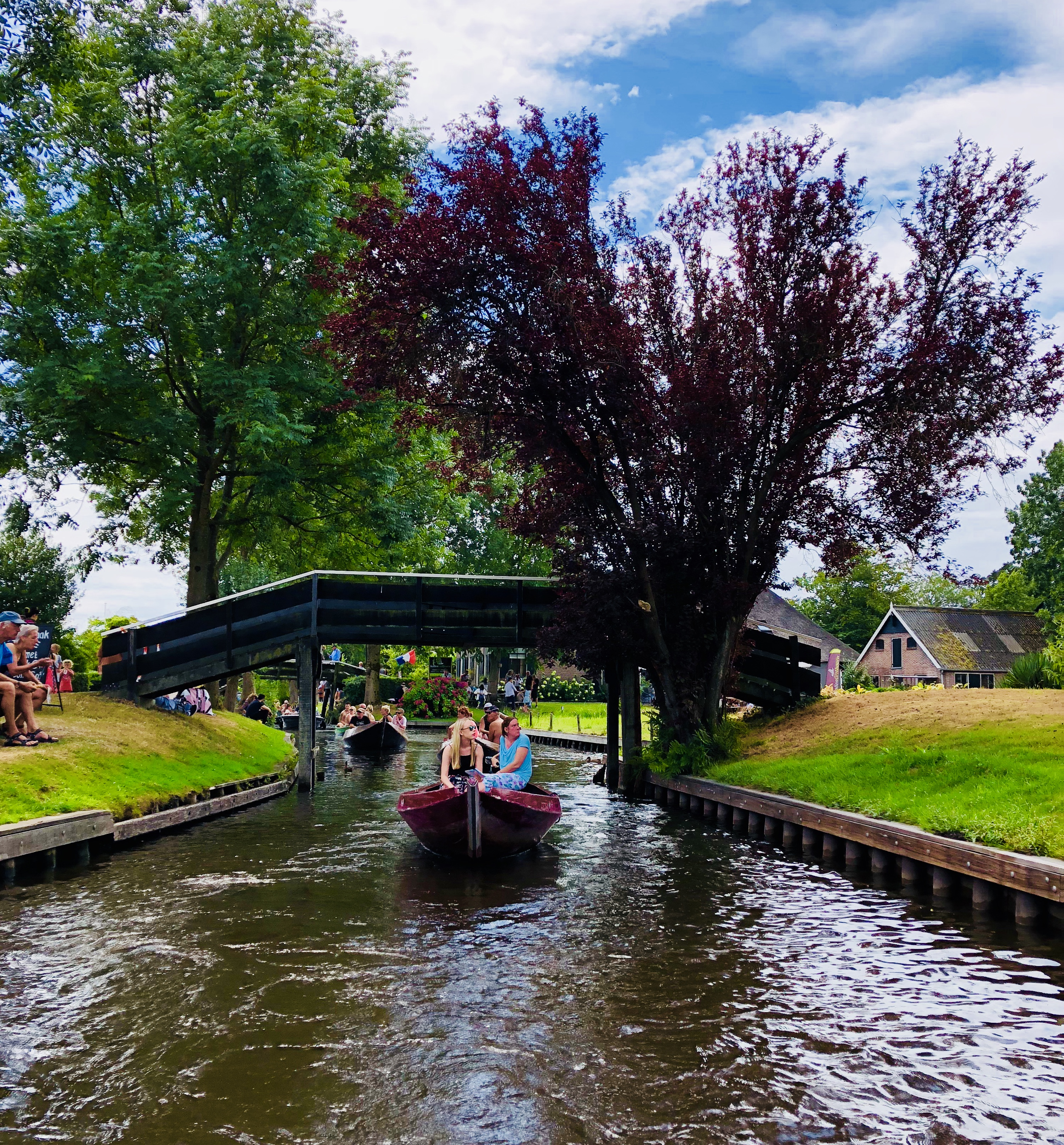 Giethoorn boat trip