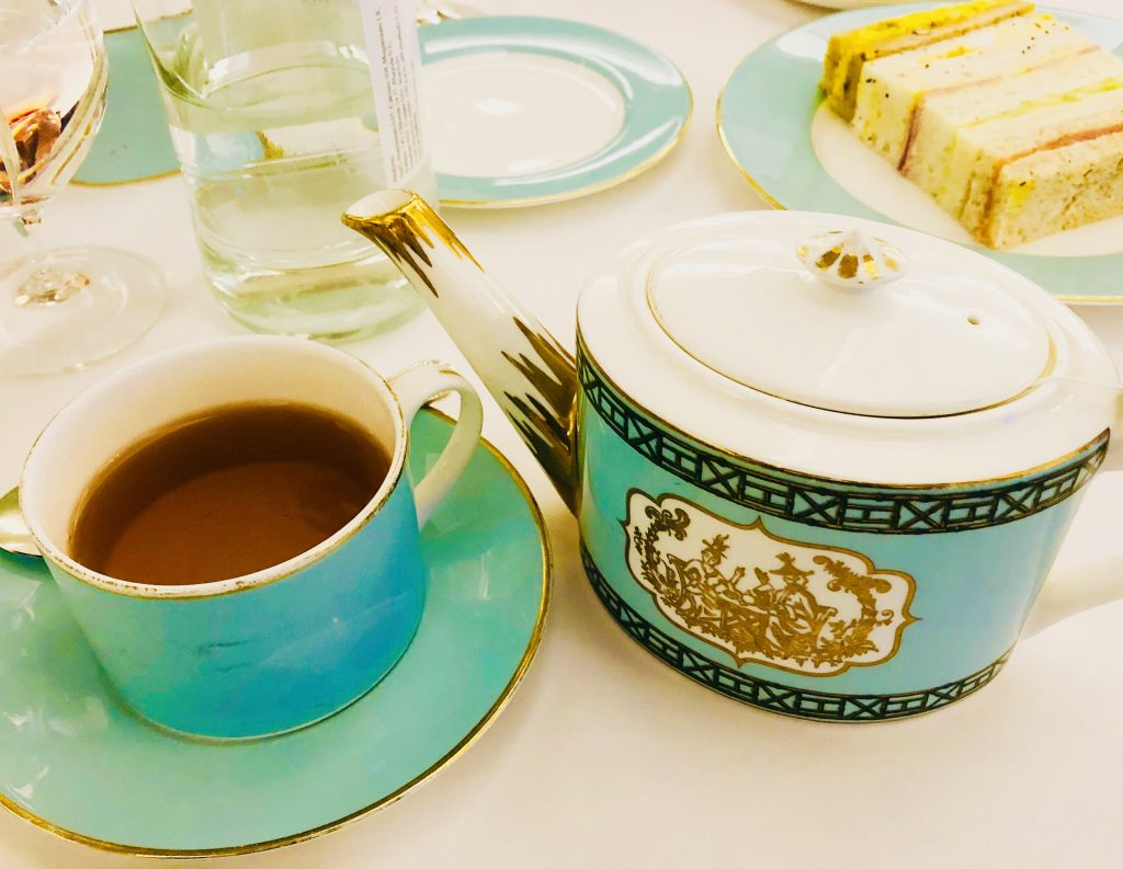 High tea experience in Fortnum and Mason, London