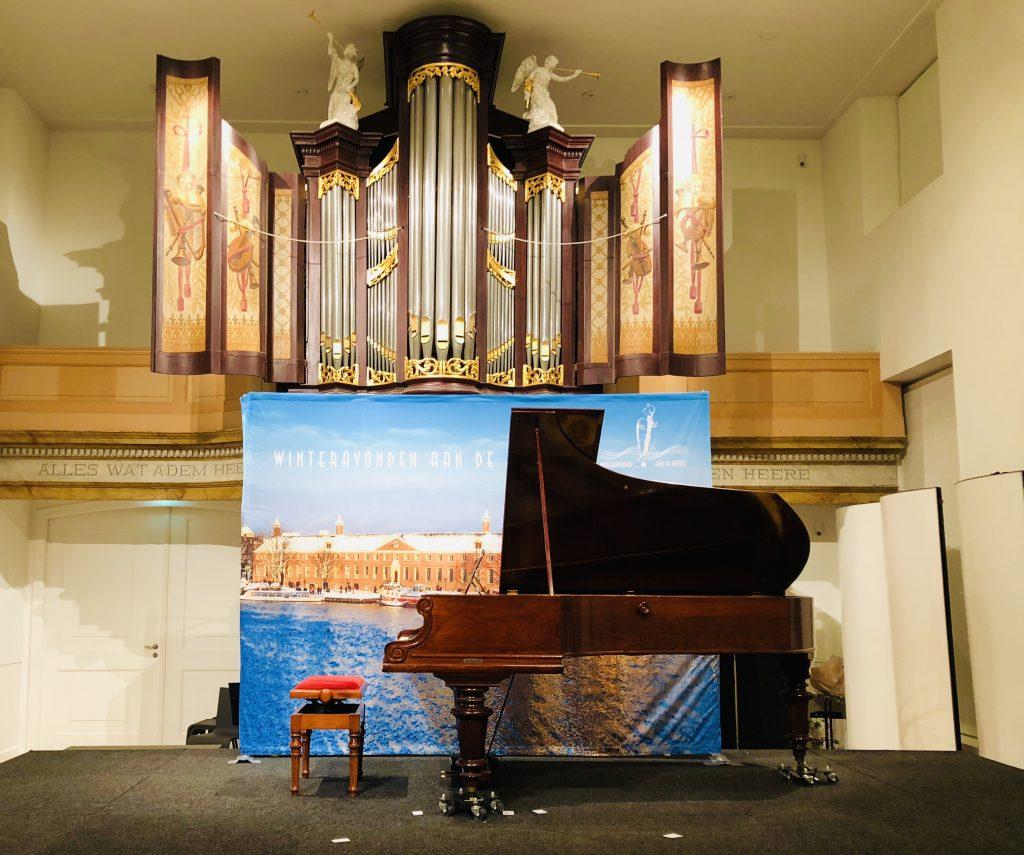Rachmaninoff piano concerto in the Hermitage museum in Amsterdam