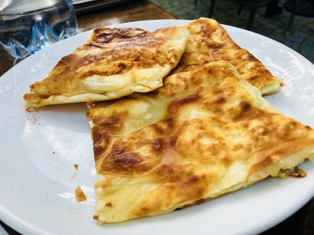 Traditional Bulgarian breakfast - Banitza