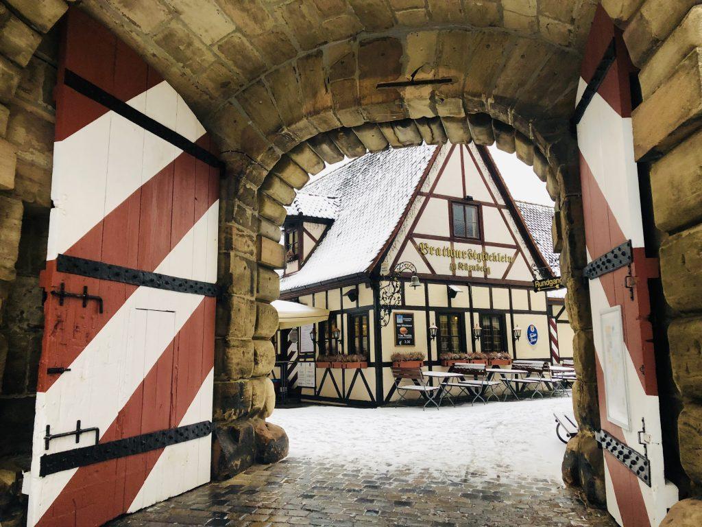 Nuremberg historic city centre