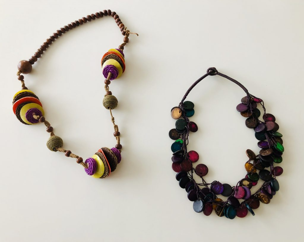 Accessories - wooden necklaces