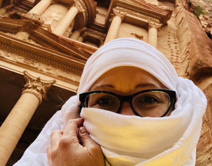 Mind-blowing canyon of Petra, baptism in Jordan river and Terrae Sanctae