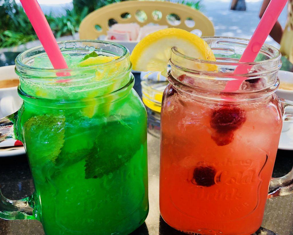 Fresh mint summer drink