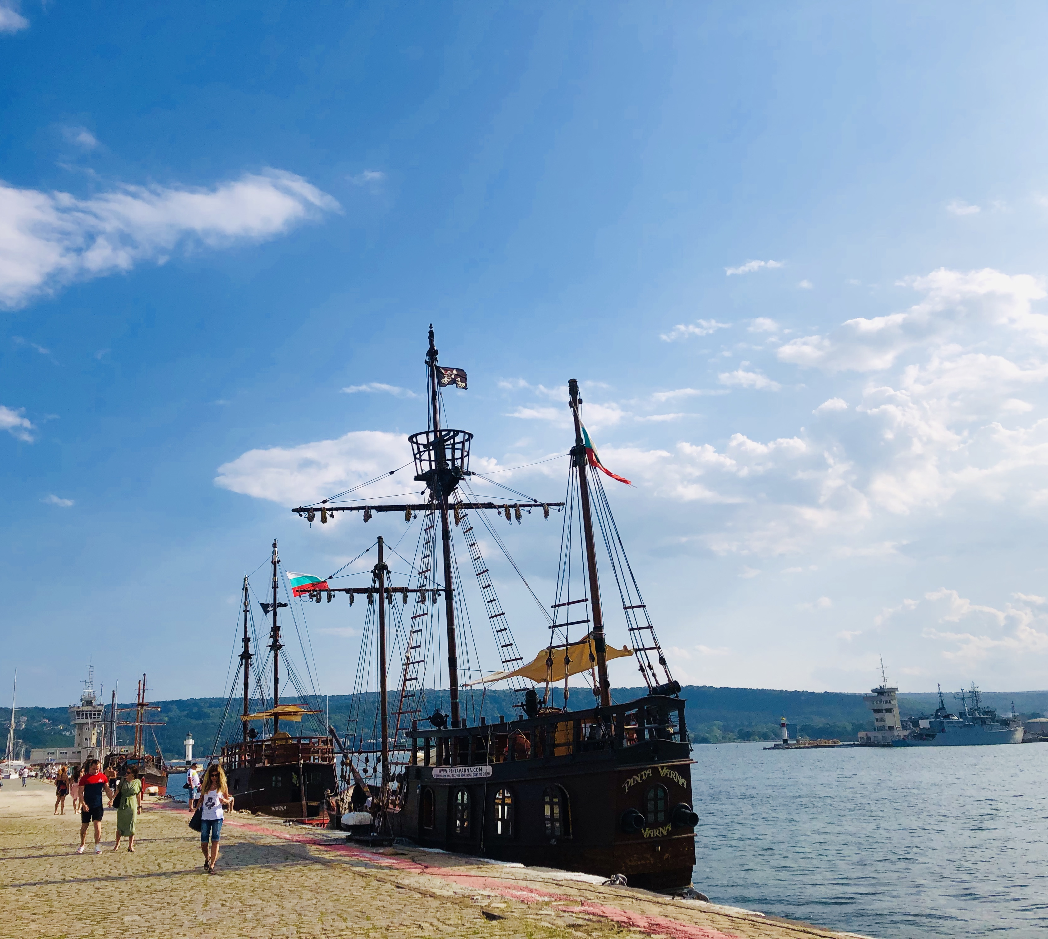 Boat trip Varna
