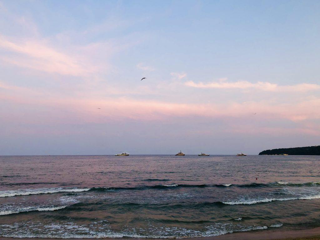 July morning in Varna