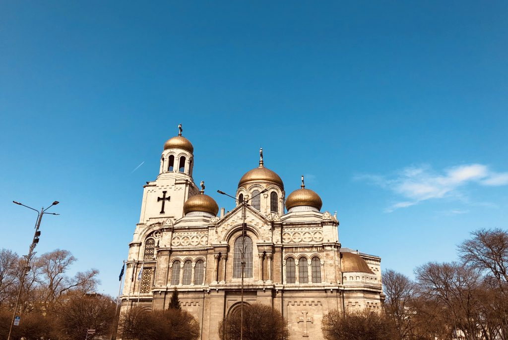 The Dormition of the Mother of God Cathedral in Varna