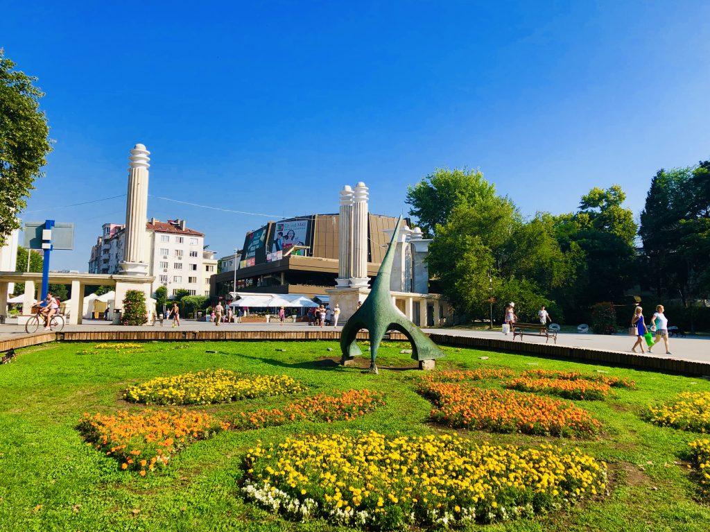 Sea Garden entrance Varna