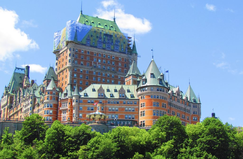 Fairmont Le Château Frontenac and Old Quebec