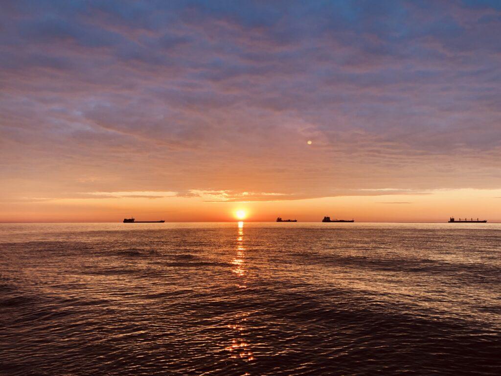 Fichosa Beach sunrise