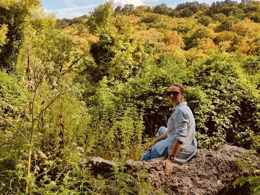 Secret waterfall Nenovo village