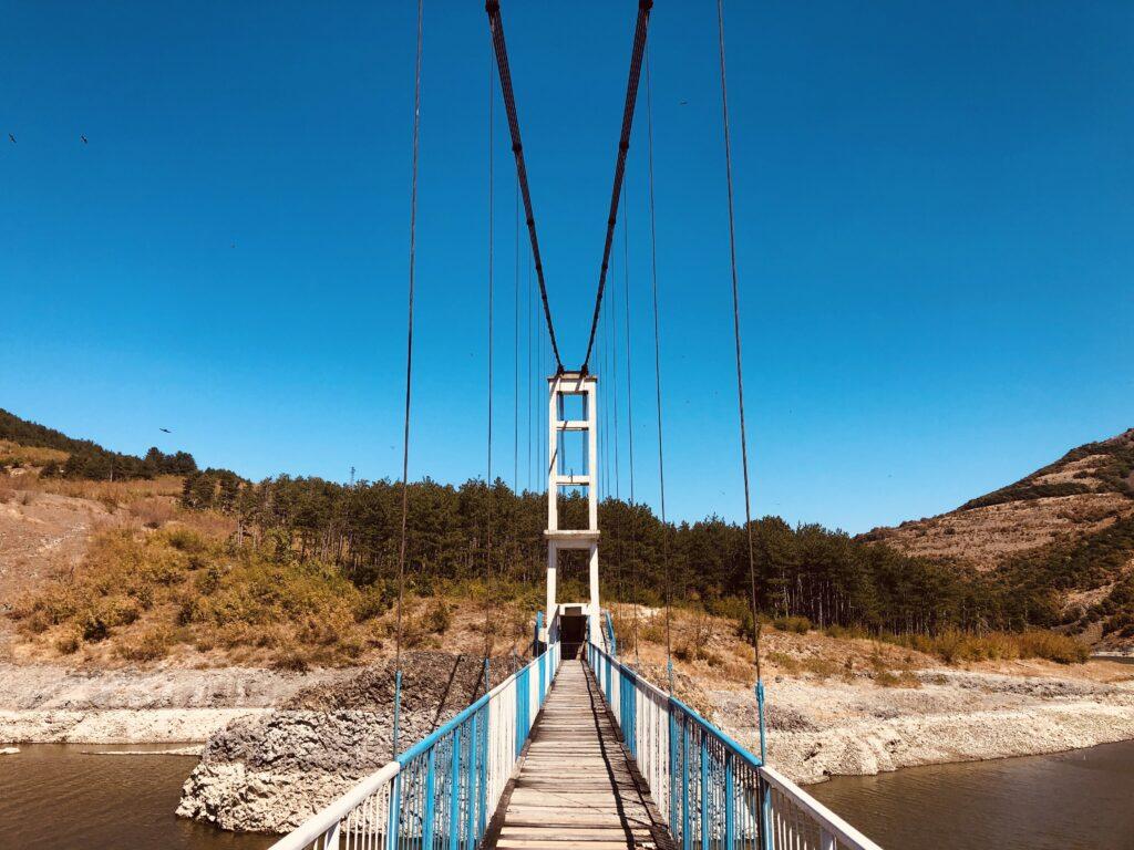 Suspension Bridge Lisitsite village