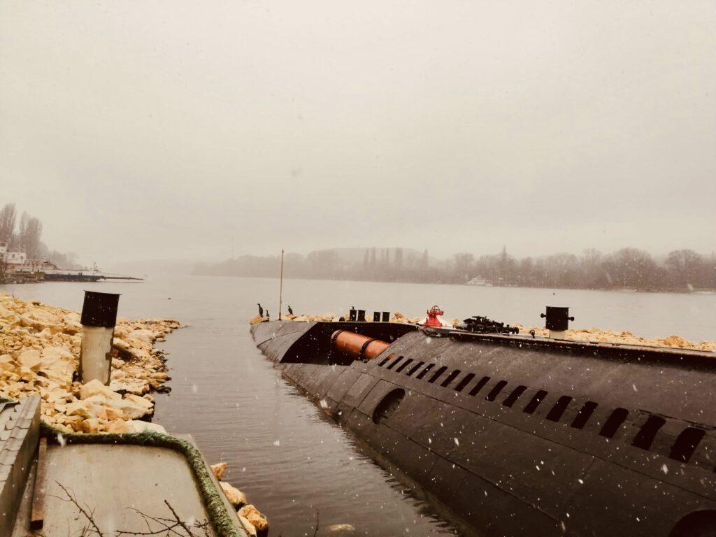 Submarine Slava in Beloslav