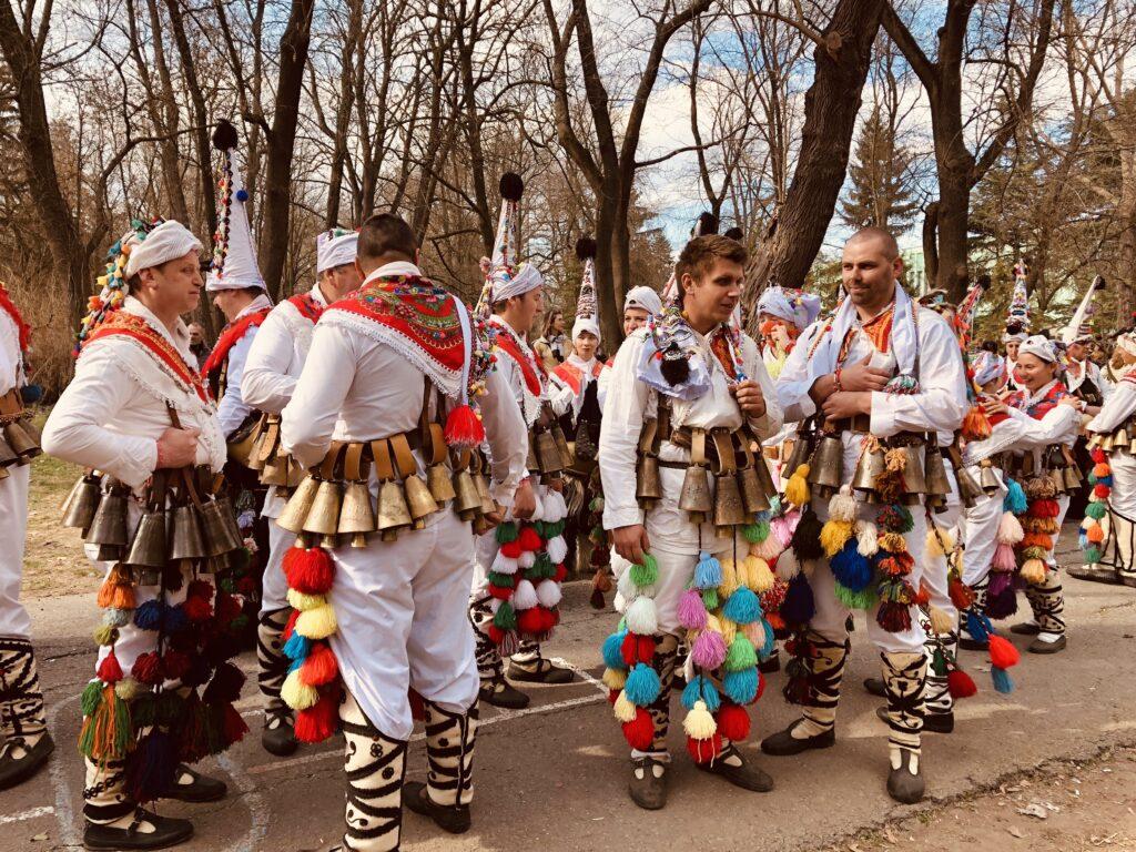 Best city in Bulgaria in January Surva festival in Pernik