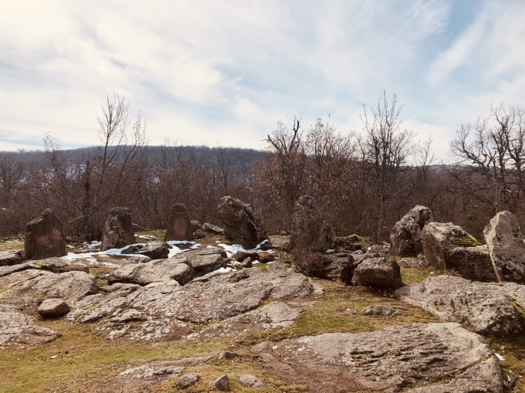 The cult sanctuary-cromlex Dolni Glavanak