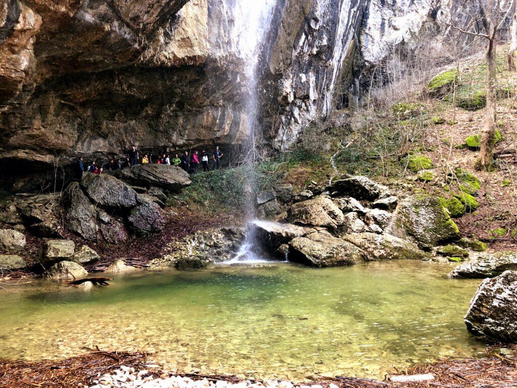 Vesselinovo waterfall near Varna